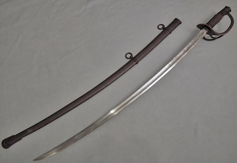 Antique American Civil War Cavalry Sword Sabre Mansfield Lamb 1864
