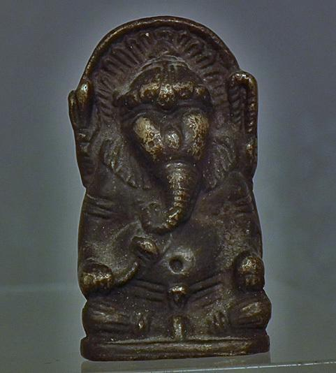 Antique 18th -19th c Himalayan Tibetan Bronze Figure of Ganapati Ganesh
