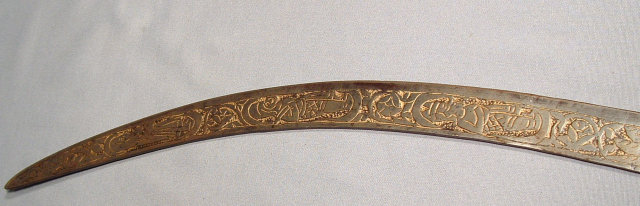 ANTIQUE INDO PERSIAN HUNTING SWORD, 19th century