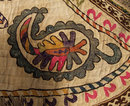 Antique Islamic Bukhara Uzbek Saddle Cover