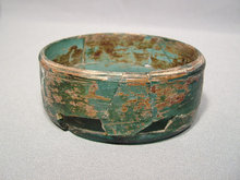 Ancient Persian Glass Vessel, 1st -3rd century