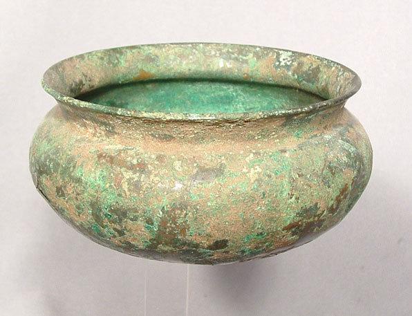 Ancient Greek Bronze Bowl, 5th century BC
