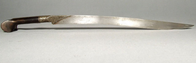 Ottoman Islamic Turkish Sword Yatagan, 18th - 19th century