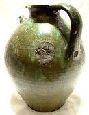 Antique European Ceramic Wine Ewer, 17th -18th century