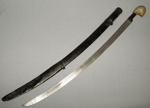SOLD Antique Imperial Russian Sword Shashka, 19th century