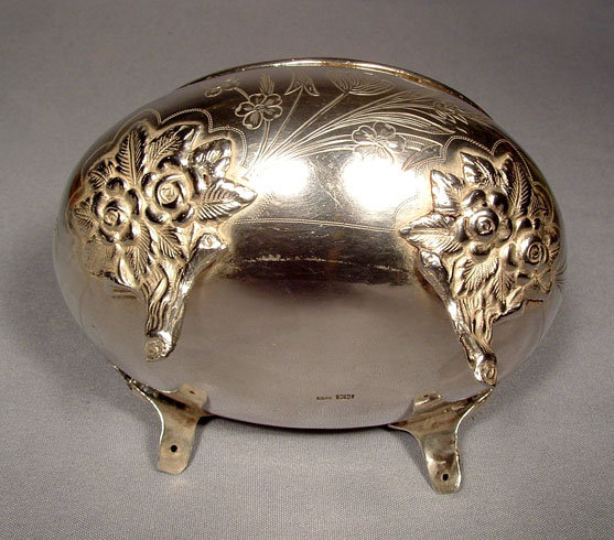SOLD  Antique Imperial Russian Silver Jewish Etrog Box