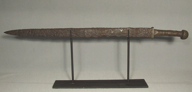 Ancient Germanic Sword Sax Seax 5th - 7th century A.D.