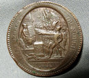 Antique 18th century Medal French Revolution