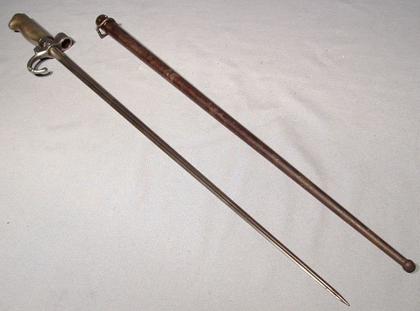 Antique French Bayonet Model 1886 Lebel