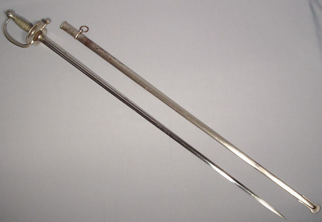 Antique 19th century French Officer Sword Epee