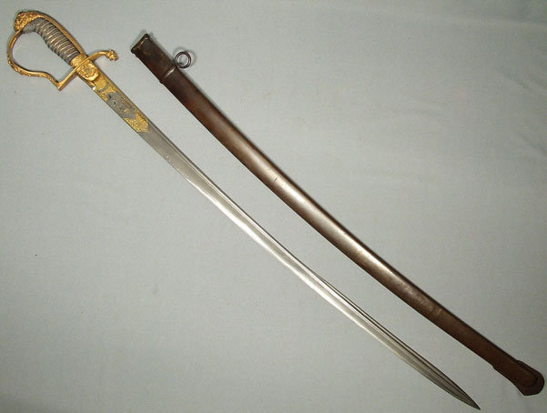 Superb Antique German Saxon Sword