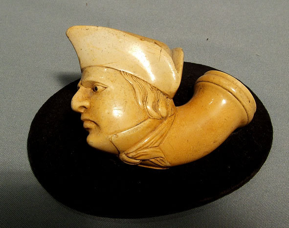 Antique Napoleonic Pipe Head of Napoleon