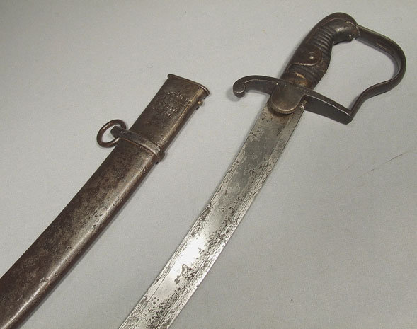 Antique Napoleonic German Prussian Cavalry Sword Blucher