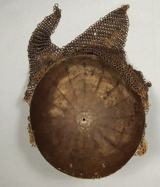 Antique Islamic Indo Persian Helmet  Kulah Khud