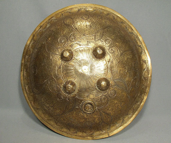 Antique Islamic Shield Indo Persian Dhal Sipar