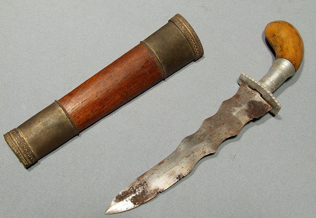 Antique Philippines Dagger Philippine Islamic Knife Punal