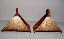 Antique  18th century Turkish Ottoman Islamic Stirrups