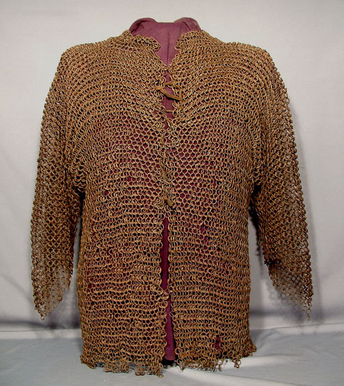 Antique Turkish Ottoman Islamic  Chain Mail  Armor  Armour 16th  century