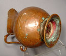 Turkish Ottoman Islamic Copper ewer