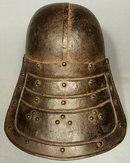Antique 17th century Cromwellian Lobstertail Helmet Zischagge