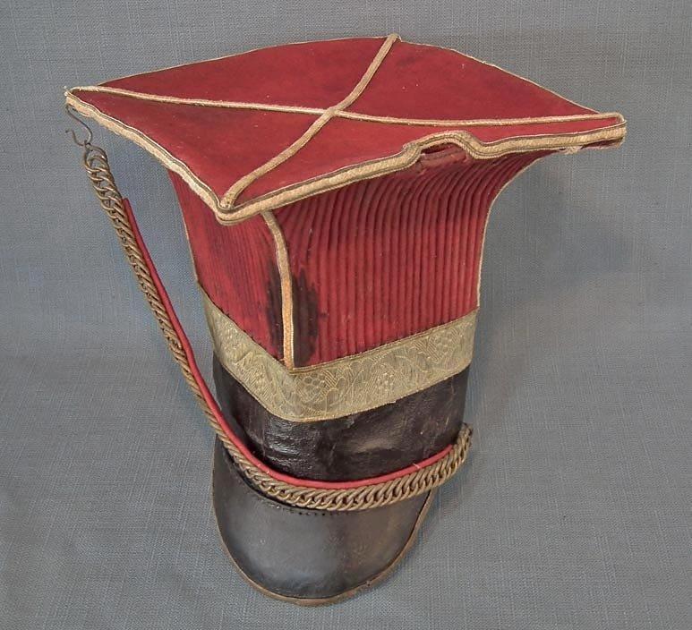 SOLD Antique Napoleonic Helmet Schapska Czapka 1st Polish Lancers Napoleon  Imperial Guard