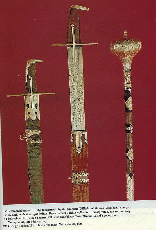 Antique 16th century Hungarian Sword Blade With 18th century Turkish Ottoman Hilt