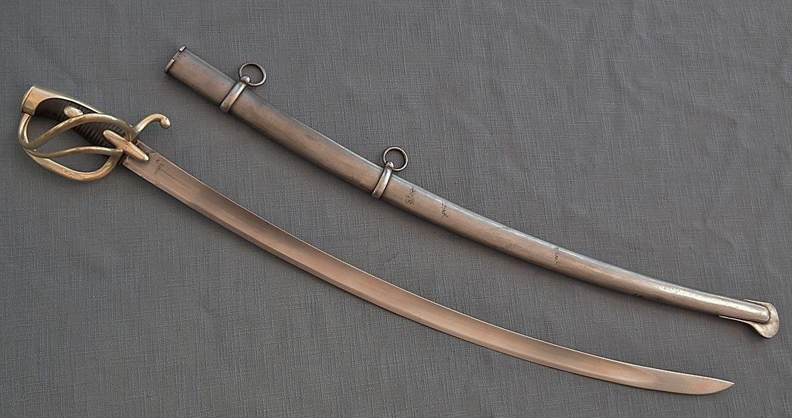 SOLD Antique Napoleonic French Napoleon Light Cavalry Sabre Sword Model AN XI