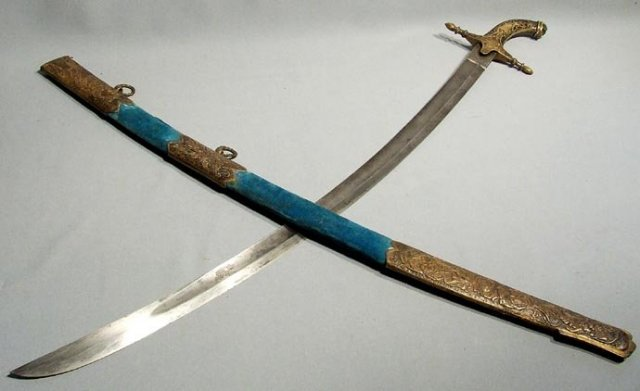 Antique Hungarian or Polish Magnat  Sword