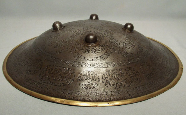 Antique 18th century Indo Persian Separ shield Armour