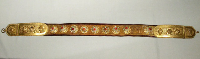 Antique Sword Belt, Hungarian-Polish Belt