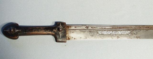 Antique Cossacks Sword, 18th century Russian Kindjal