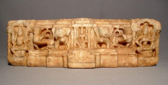 Antique Indian Deities Marble Sculpture, 11th century