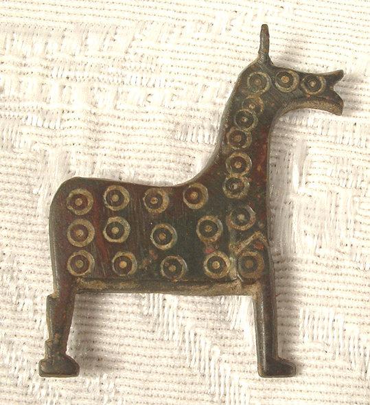 Antique Islamic Bronze Horse, Egypt 12th cen.