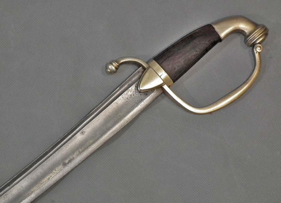 Antique French Napoleonic Cavalry Sword Sabre Consulate - 1st Empire