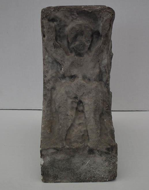 Antique Medieval Romanesque 11th -13th Century Marble Column Base