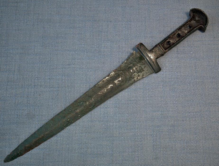 Ancient Bronze Sword Dagger Western Asiatic 1200 – 1000 B.C.