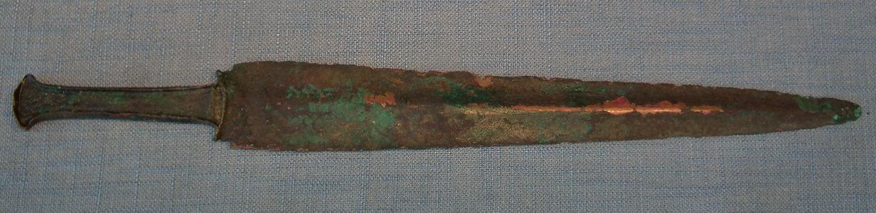 Ancient Western Asiatic Bronze Sword Dagger 1200-900 B.C