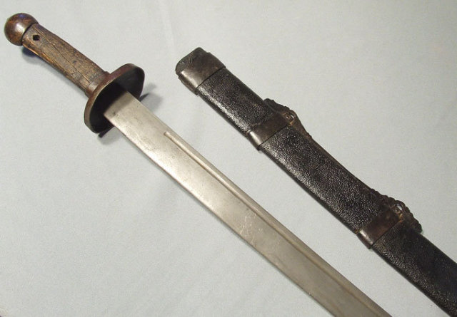 Antique Chinese Sword Dao, 18th - 19th century