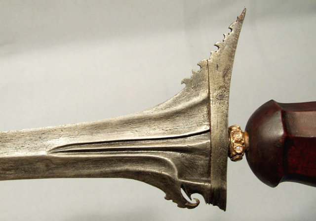 Antique Sword Keris Indonesian Kris, Bali 18th -19th century