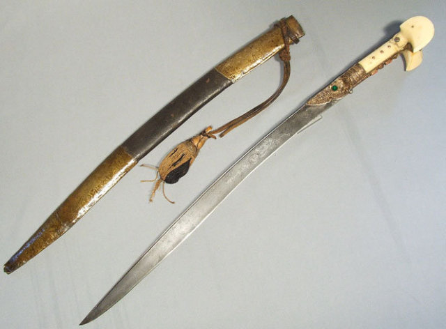 Turkish Sword Yatagan, 18th-19th century