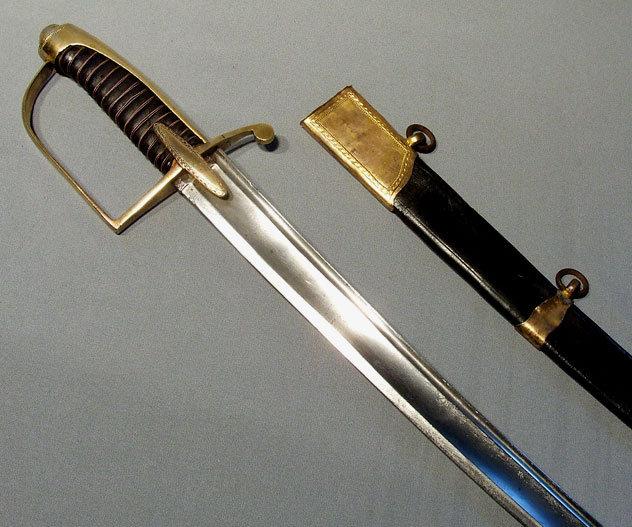 Antique Hussar Sword Saber, 18th century