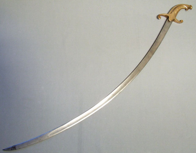 Antique Russian Sword, Napoleonic War, 19th century