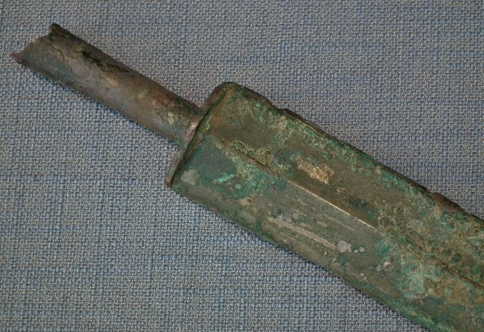 Ancient Chinese Bronze Sword Jian Warring States Period 475–221 BC