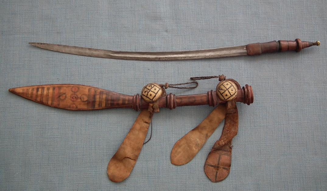 Antique 19th Century Islamic African Manding Mandingo Malinke Sword