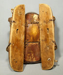 Antique 17th Century Korean War Lord Saddle