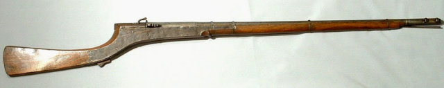 Antique Indo Persian Matchlock Gun Rifle Jezail, 18th Century
