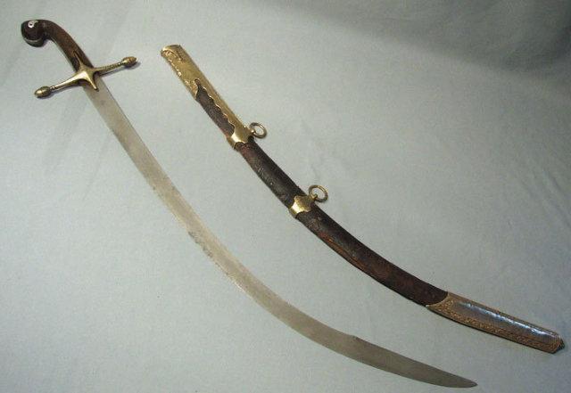 Antique Turkish Ottoman Sword Kilij, 18th century