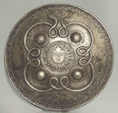 Antique Indo-Persian steel Shield Dhal Separ, 18th century