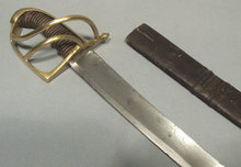Antique Austrian Hungarian Sword, 18th Century