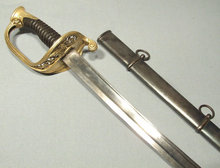 Antique 19th Century French Cavalry Sword